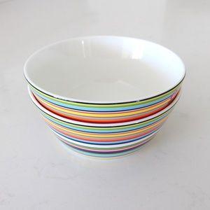 New iittala origo 0.25 L (8.5 oz) dessert bowl set